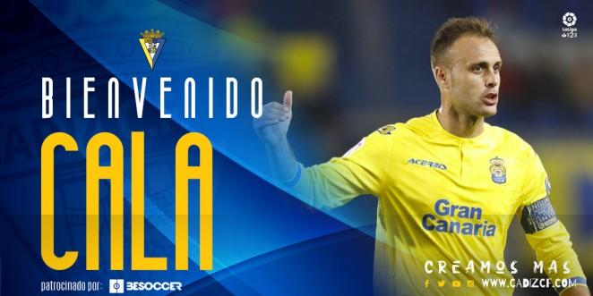 Juan Cala, nuevo jugador del Cádiz (Foto: CCF).