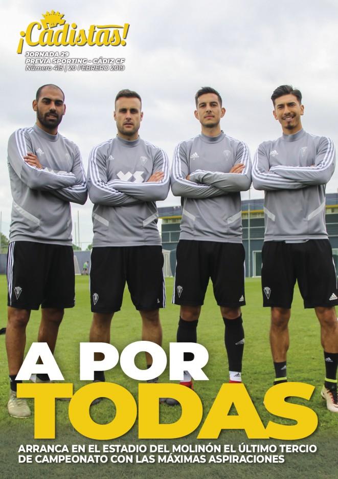 #415 Previa Sporting - Cádiz