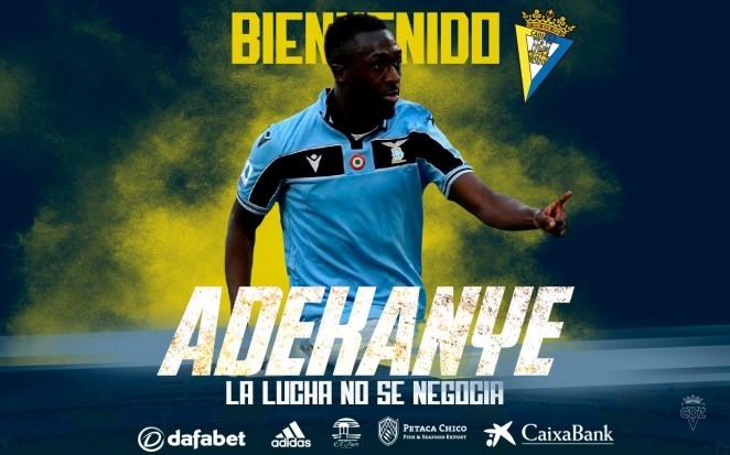 Adekanye, velocidad para el ataque | Cádiz CF - Web Oficial