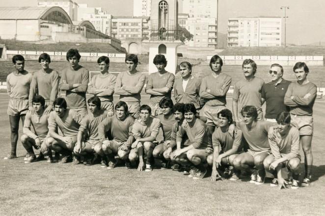 Plantilla del Dépor en la temporada 1980/81 (Foto: RCD).