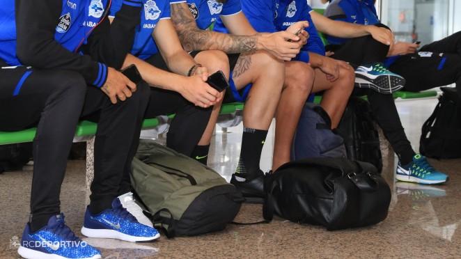 El Dépor viaja a Málaga este sábado por la tarde y regresa tras el partido