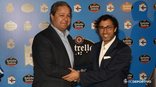 Estrella Galicia y el Real Club Deportivo celebran 10 temporadas juntos ampliando su relación 3 más  Página Oficial del R.C. Deportivo de La Coruña