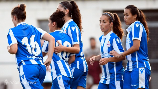 Futbolistas del Deportivo ABANCA (Foto: RCD).