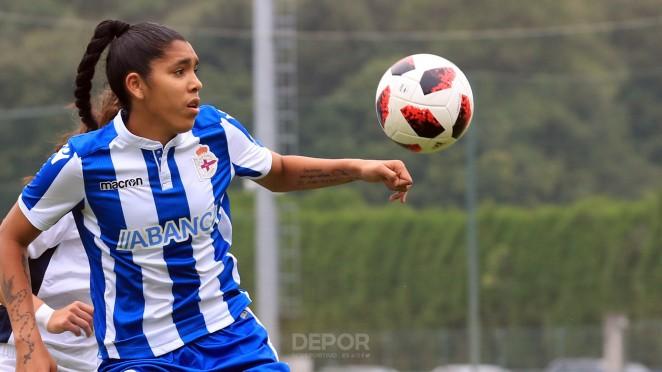 Gaby, delantera del Deportivo ABANCA (Foto: RCD).
