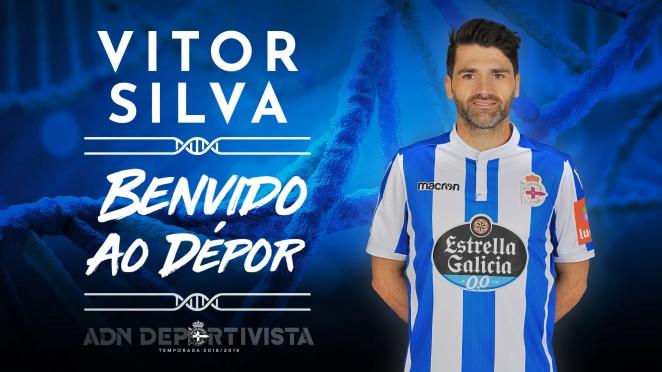 Vítor Silva, nuevo jugador del Deportivo (Foto: RCD).
