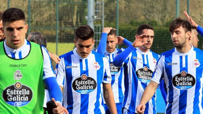 Futbolistas del Deportivo Fabril (Foto: RCD).