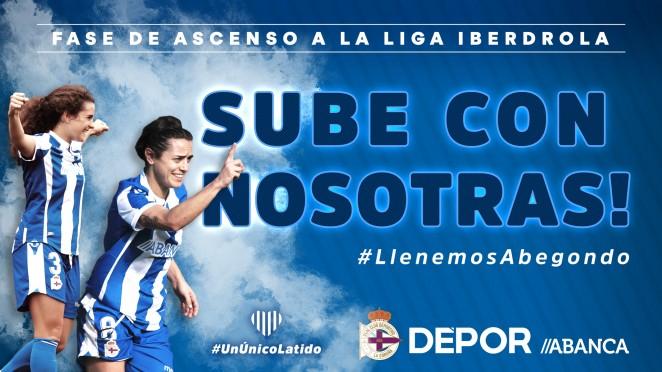 Cartel promocional de la fase de ascenso (Foto: RCD).