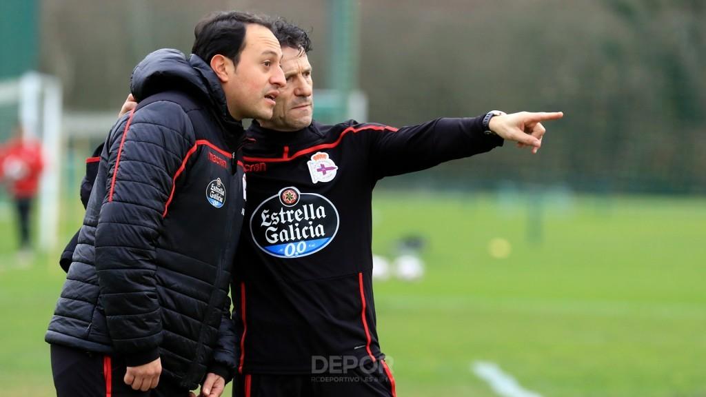 Luisito, entrenador del Fabril del Dépor (Foto: RCDC).