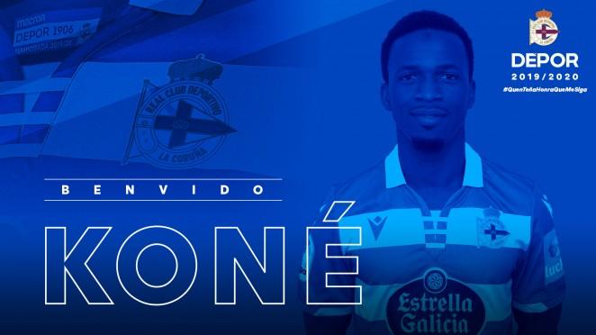 Koné, nuevo jugador del Dépor.
