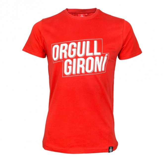 Camiseta Orgull Gironí Roja Adulto