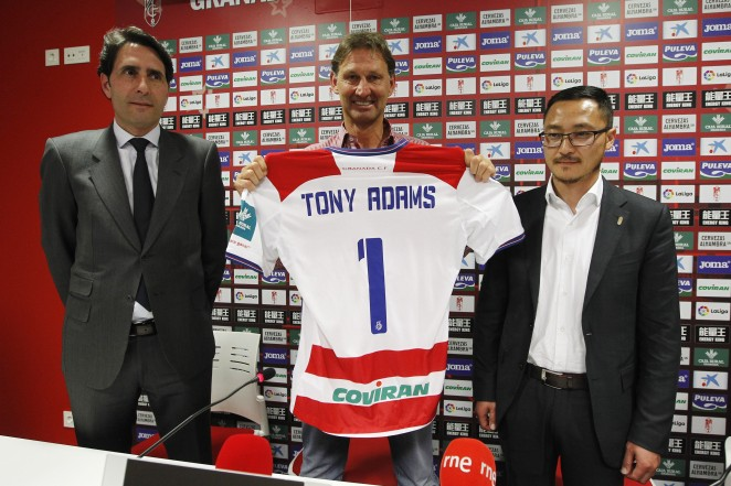 cheap for discount 0a963 8723e Tony Adams: 'I'm going to try the best I can with my 40 ...