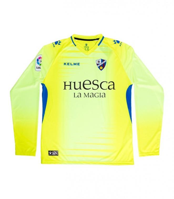 Camiseta amarilla portero