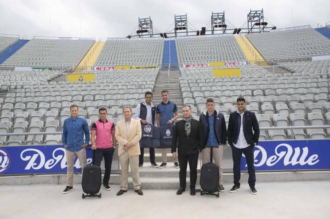 116338d1b Manuel Peña, gerente de la empresa DEWE, marca que esta temporada vestirá a  los futbolistas de la UD Las Palmas, destacó la