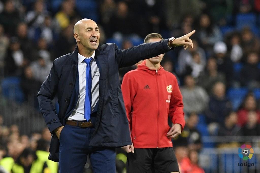 Pako Ayestarán, en el choque ante el Real Madrid | Foto: UD Las Palmas