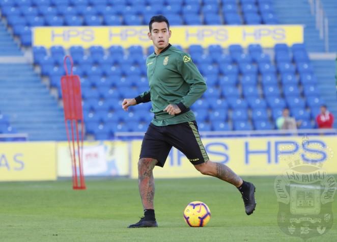 Resultado de imagen de Sergio Araujo se incorpora a los entrenamientos de la UD Las Palmas