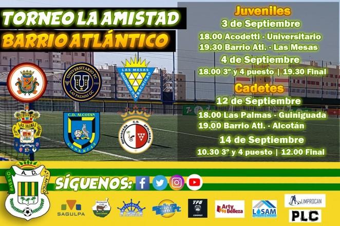El Cadete B En El Torneo La Amistad Las Palmas Web Oficial