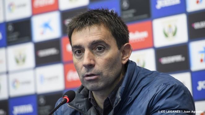 Asier Garitano: 'Tendremos que hacer un gran partido para tener opciones contra un rival que tiene un estado de ánimo increíble'  Leganés - Web Oficial