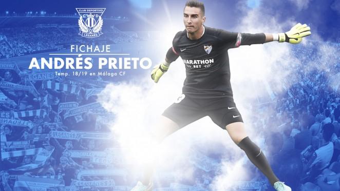 El C D  Legan U00e9s Incorpora Al Guardameta Andr U00e9s Prieto Hasta Final De Temporada