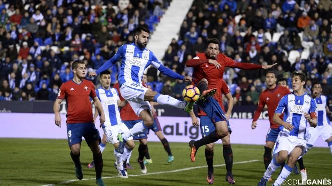 El Leganés se estrena en LaLiga frente a Osasuna, ante quien logró ...