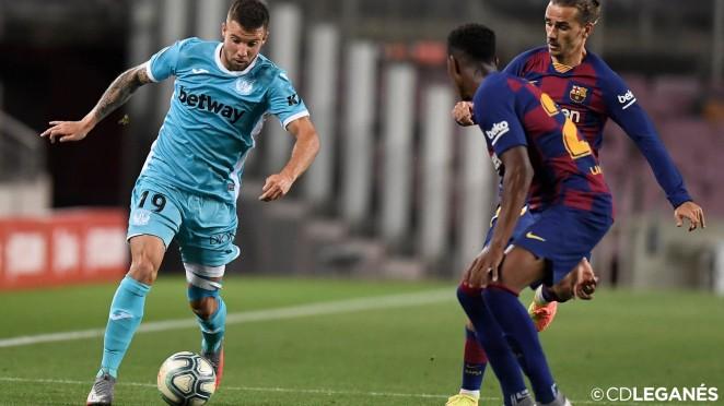 Un serio y ordenado Leganés no puede sumar en el Camp Nou (2-0 ...