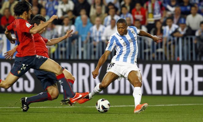 El Málaga CF suma tres puntos en el descuento ante CA Osasuna (1-0 ... 29296b8383601