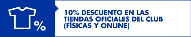 Podrás comprar cualquier producto oficial en las tiendas del Málaga CF con  tu descuento exclusivo de abonado. 8b9889da6e653