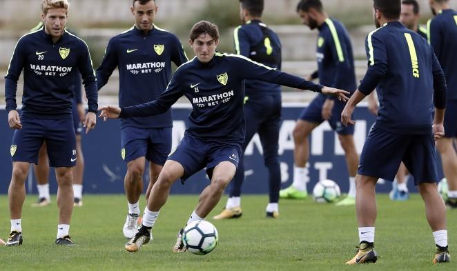 662x372a_2214014017-10-19-entrenomalaga02 El Málaga volvió a los entrenamientos con 7 jugadores al margen - Comunio-Biwenger