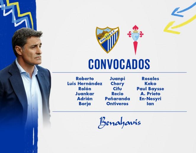 662x372a_29132236destacada Convocatoria del Málaga para el partido ante el Celta - Comunio-Biwenger