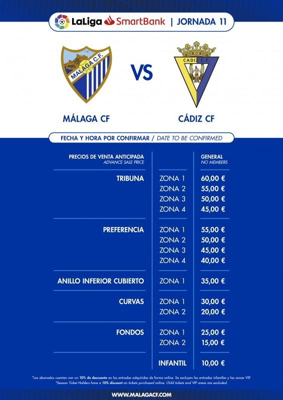 Tickets | Málaga - Web Oficial