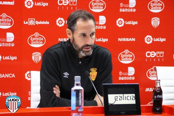 Vicente Moreno: 'La UD Almería es de los equipos que más ha progresado'