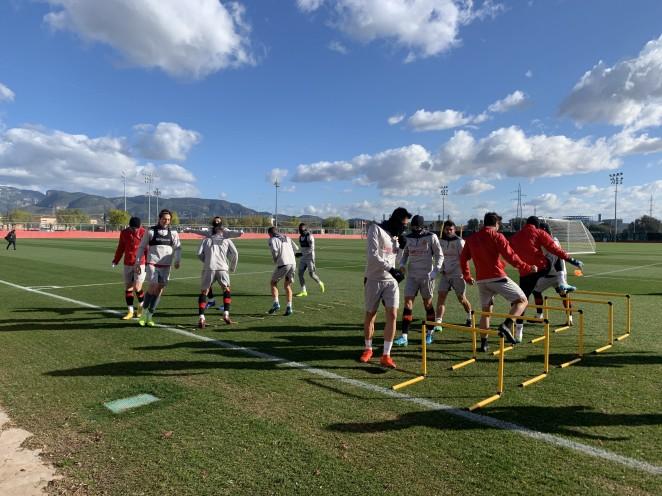 El RCD Mallorca empata 1-1 en el Carranza
