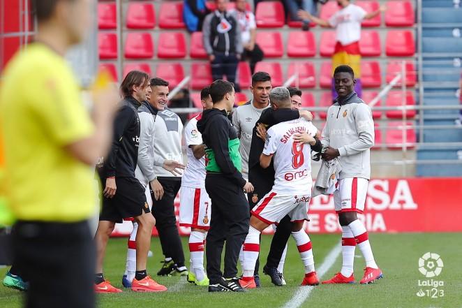 El RCD Mallorca empata en el último suspiro en Los Pajaritos