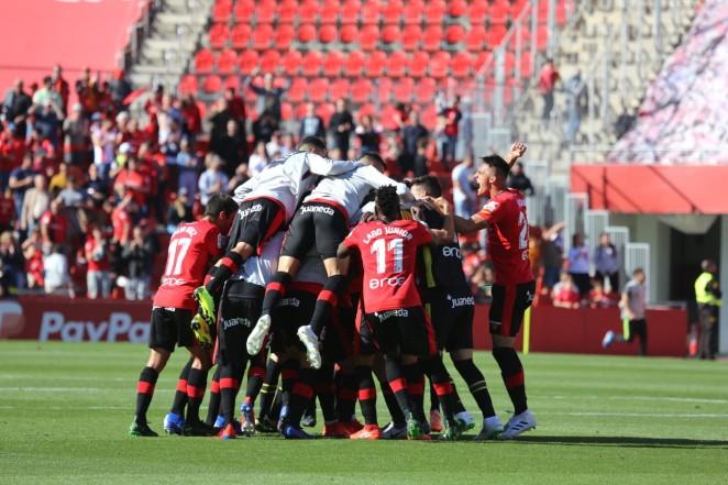 Victoria trabajada del RCD Mallorca por 2-1 frente al Sporting