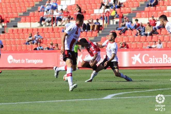 Dura derrota por 2-1 del RCD Mallorca en su visita al Nàstic