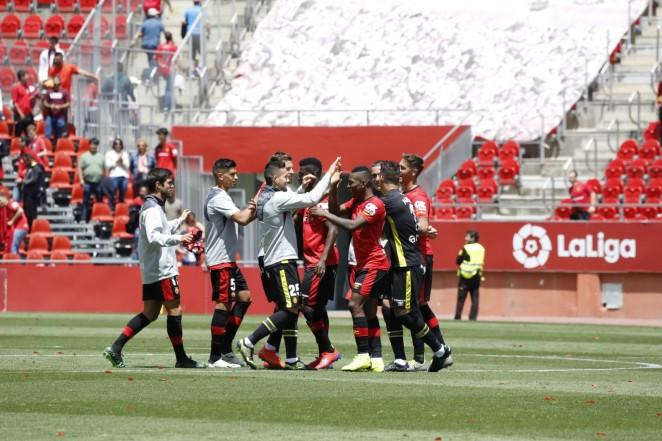 Victoria del RCD Mallorca 1-0 frente a la UD Almería