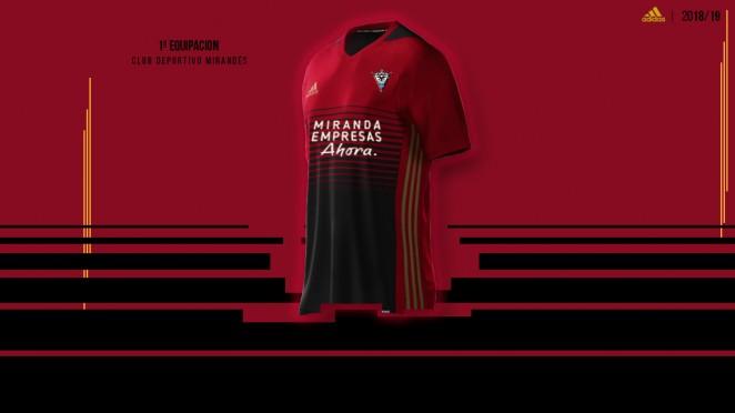 Así son las nuevas equipaciones del Club Deportivo Mirandés