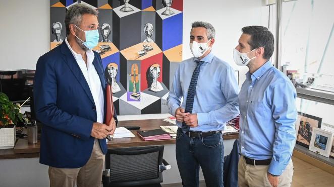 """""""El estricto protocolo anti COVID-19 del Racing posibilita que sólo haya tres contactos directos"""""""