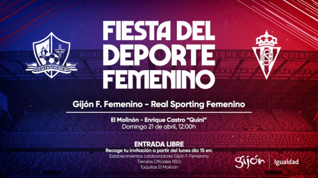 Sporting Femenino - Gijón FF en El Molinón.