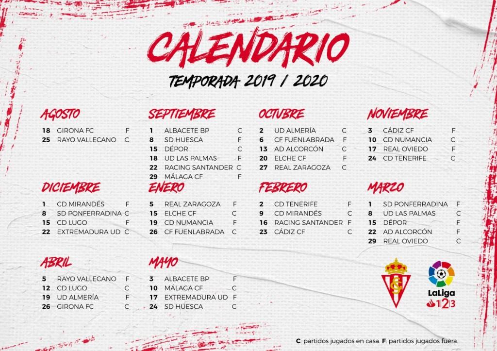 Calendario Laboral Fuenlabrada 2020.Calendario De La Liga 123