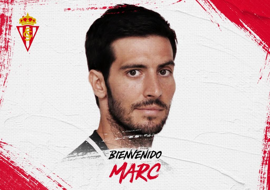 Marc Valiente, nuevo jugador del Sporting (Foto: RSG).