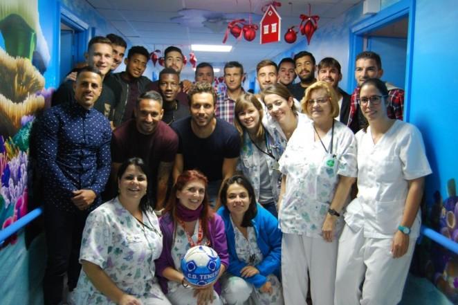 El cd tenerife visitar este mi rcoles a los pacientes - Hospital nuestra senora de la candelaria tenerife ...