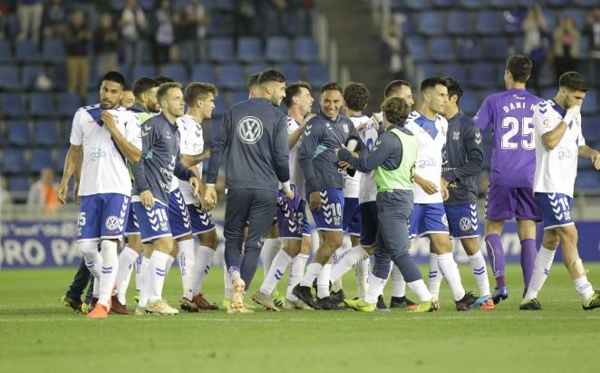 El CD Tenerife supo levantarse