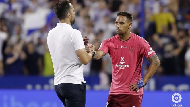 El CD Tenerife no pudo sumar en Zaragoza