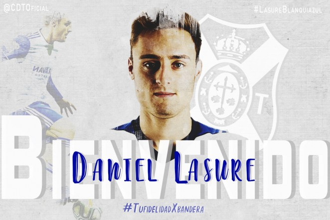 Daniel Lasure, nuevo refuerzo del CD Tenerife