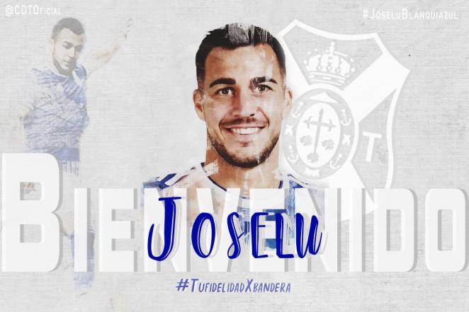 Joselu, nuevo refuerzo del CD Tenerife