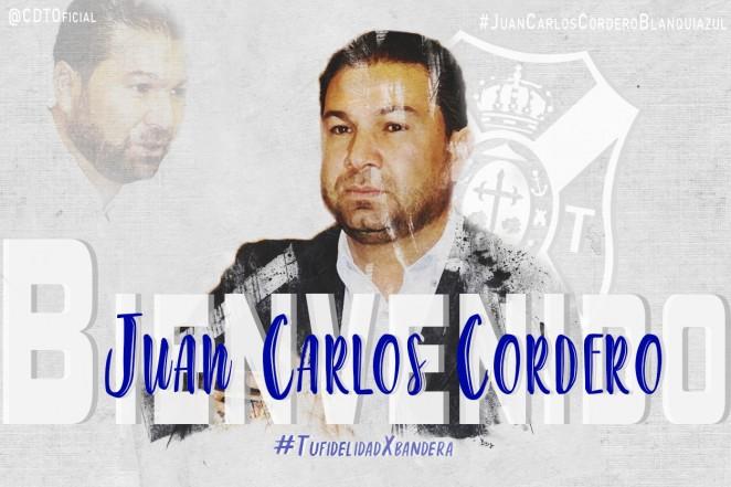 Juan Carlos Cordero, nuevo director deportivo del CD Tenerife