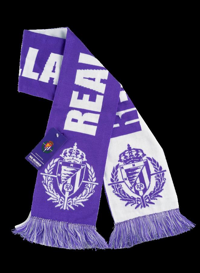 Bufanda del Real Valladolid
